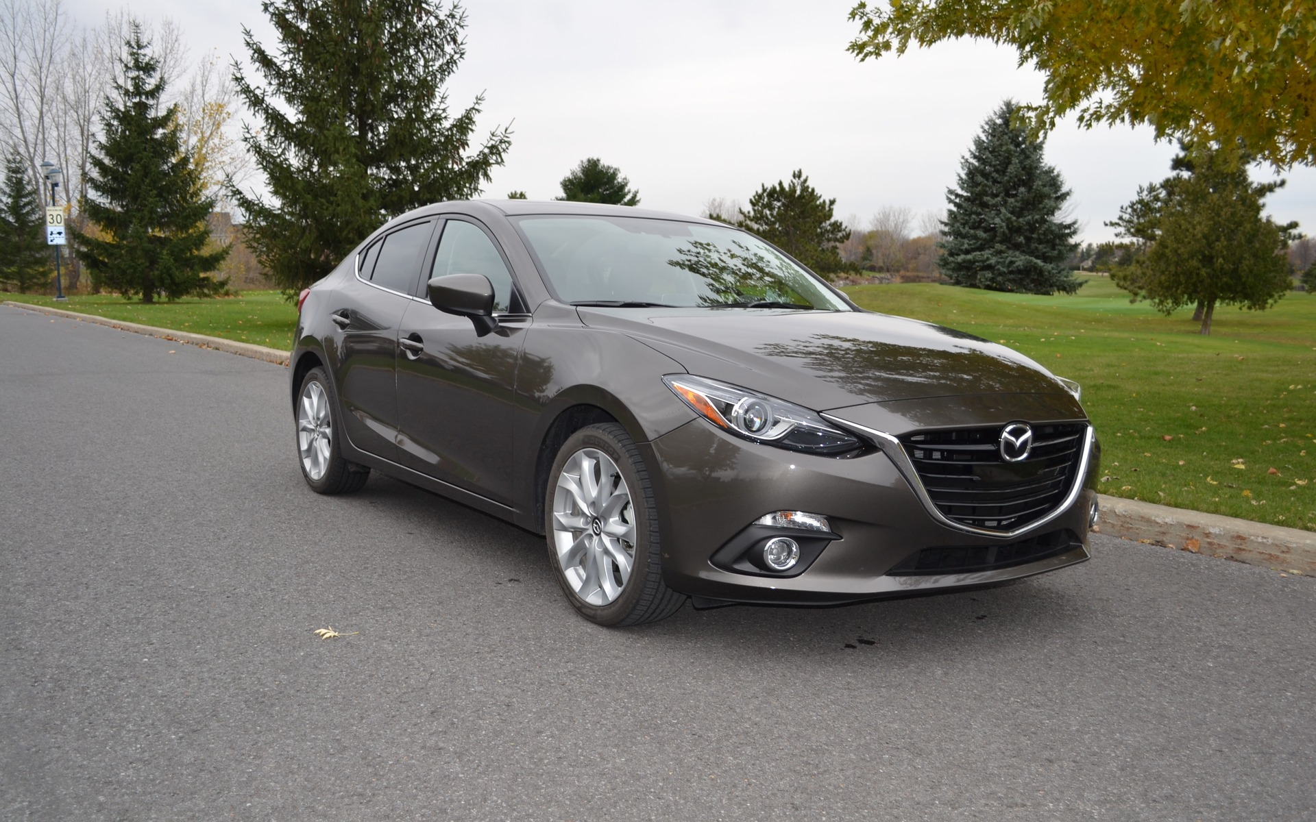 We like the Mazda3 primarily for its style and dynamic ride.