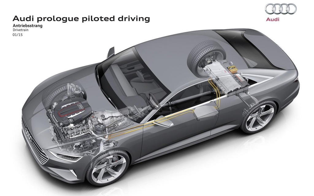 Audi Prologue Piloted Driving Concept Unveiled At CES - Audi piloted driving