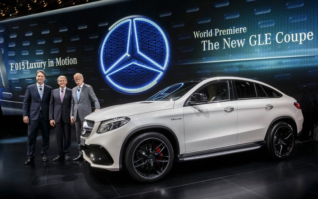 mercedes benz gle coupe targeting the bmw x6 the car guide. Black Bedroom Furniture Sets. Home Design Ideas