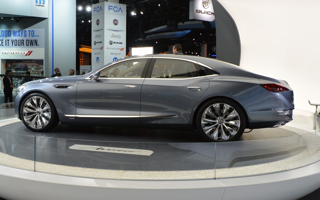 buick avenir an appropriate name for a big new sedan the car guide. Black Bedroom Furniture Sets. Home Design Ideas
