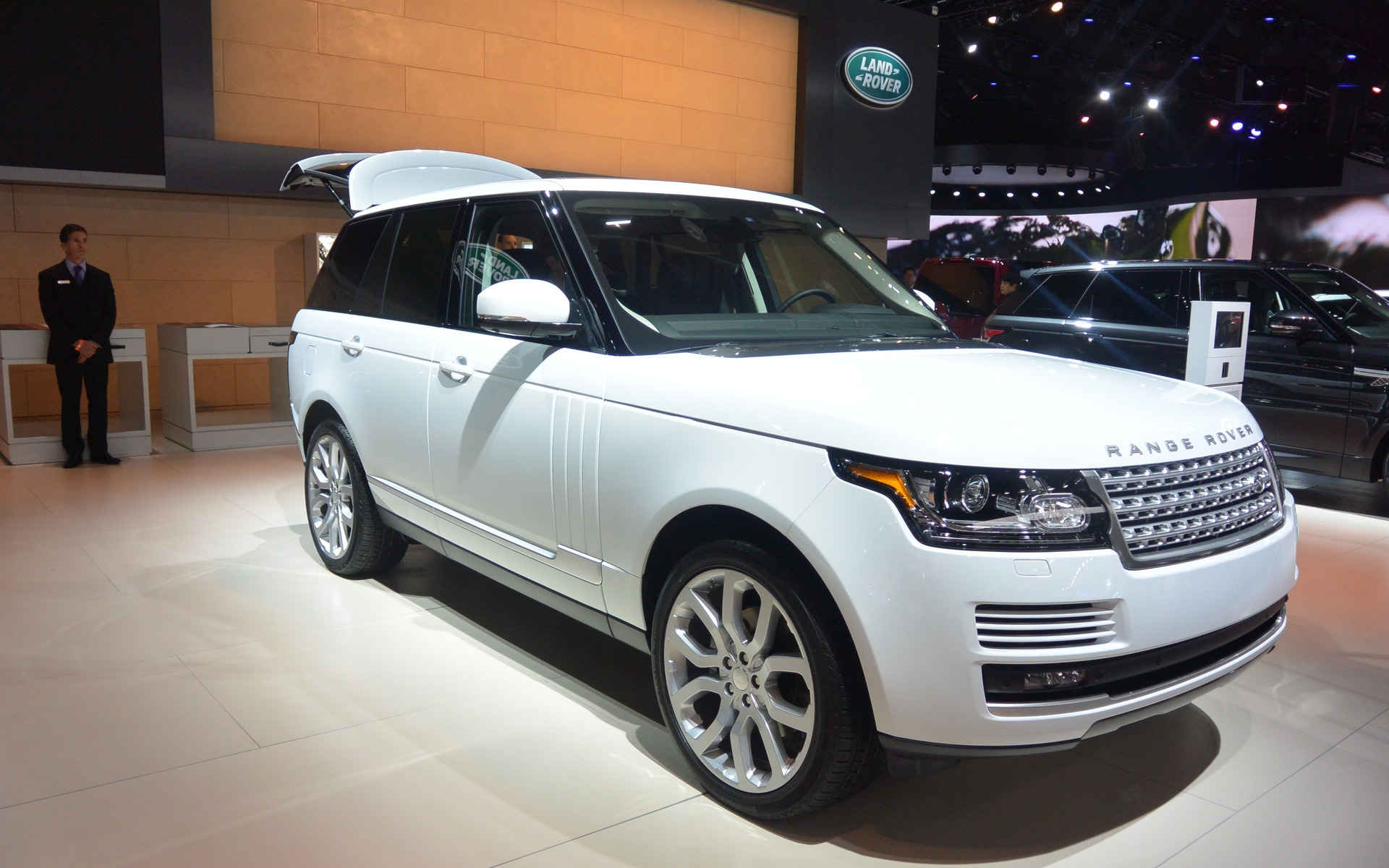 Range Rover Used >> Diesel Land Rovers For North America - 1/8