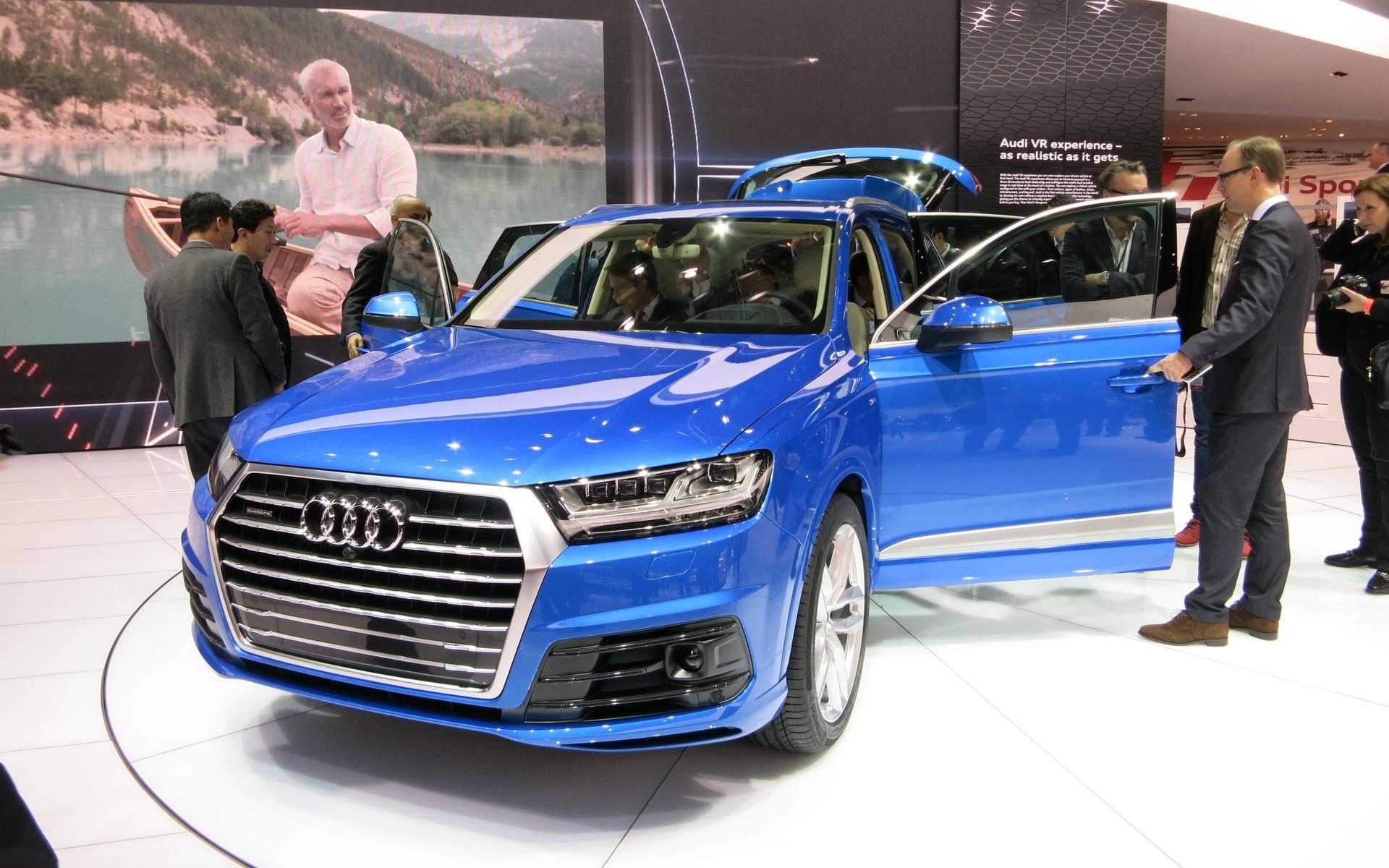 Second Generation Audi Q7 Unveiled 1 12