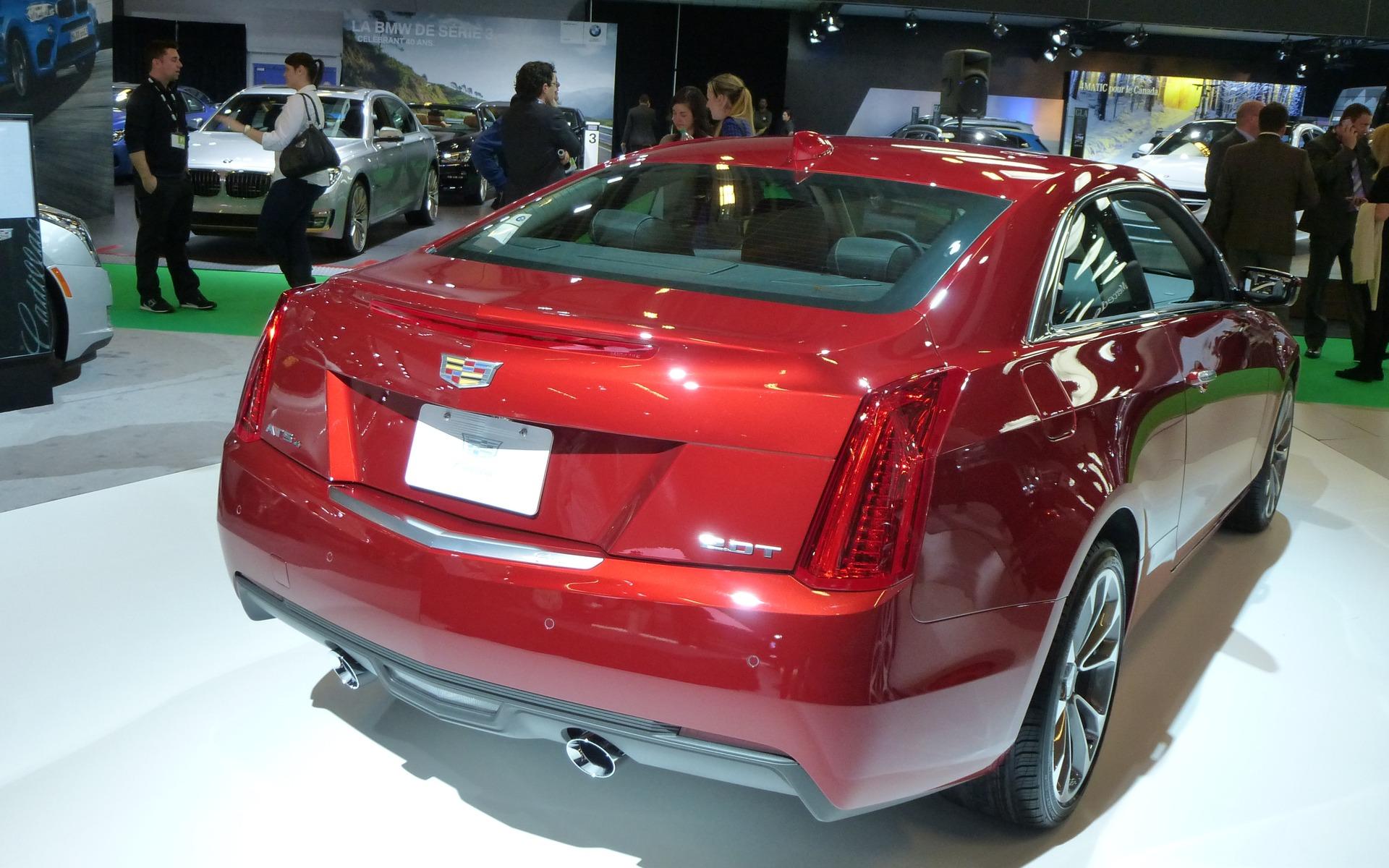 Cadillac ATS coupé 2015