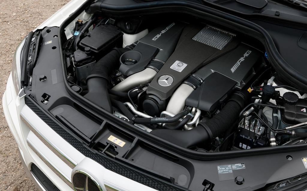 """Le fameux V8 """"M157"""" d'AMG"""