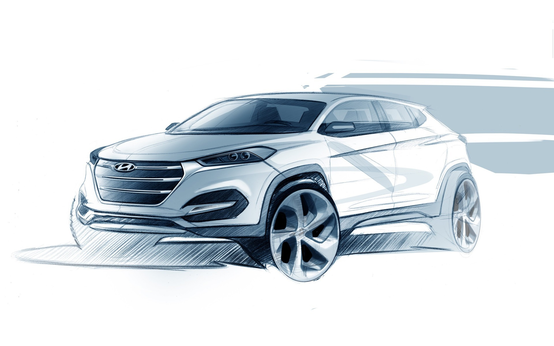 First Sketches Of The 2016 Hyundai Tucson - The Car Guide