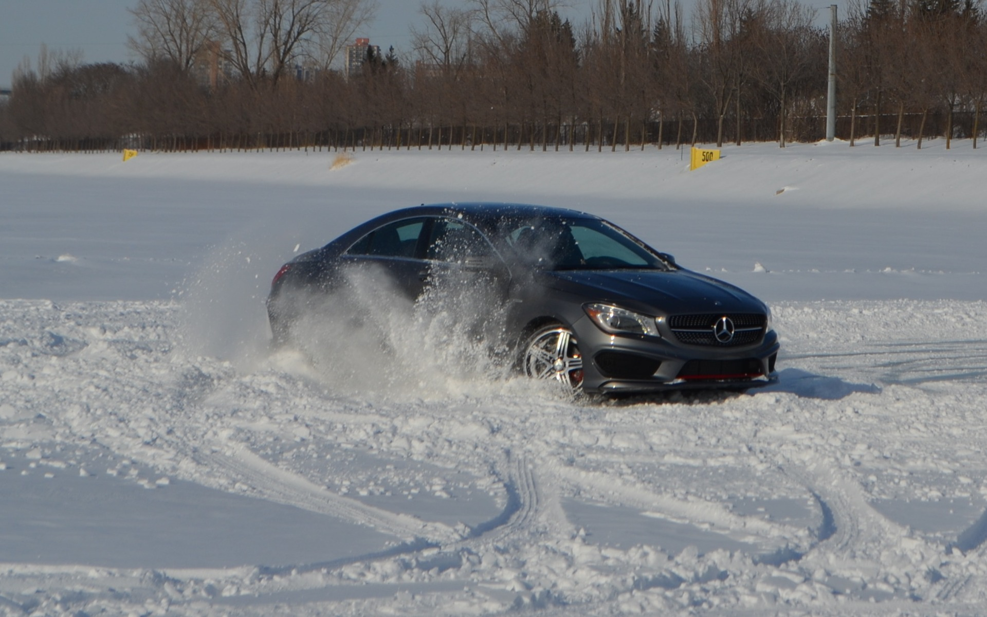 Mercedes Benz Winter Driving Academy The Car Guide
