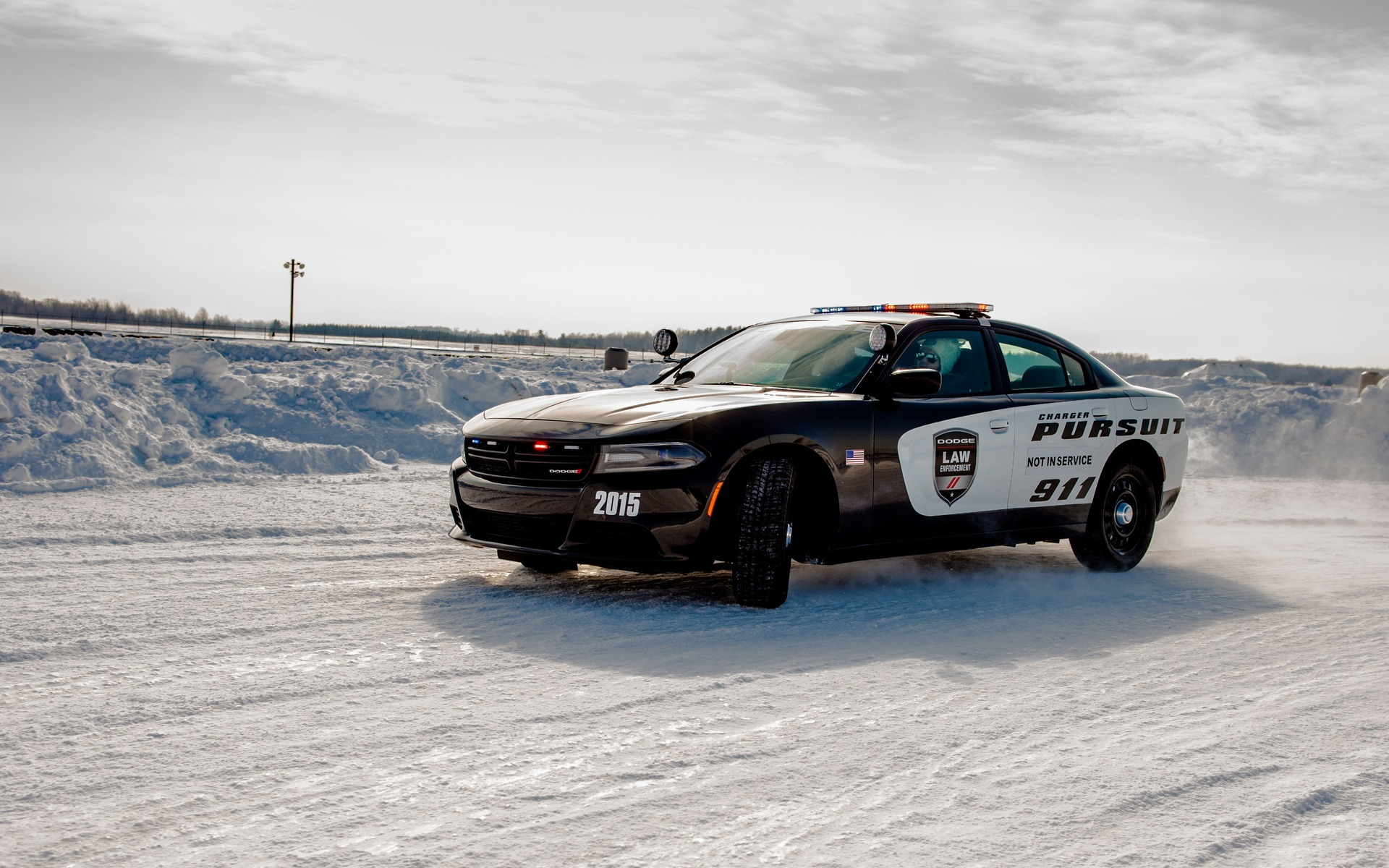 Sideways In The Snow At Chrysler's Winter Driving Program