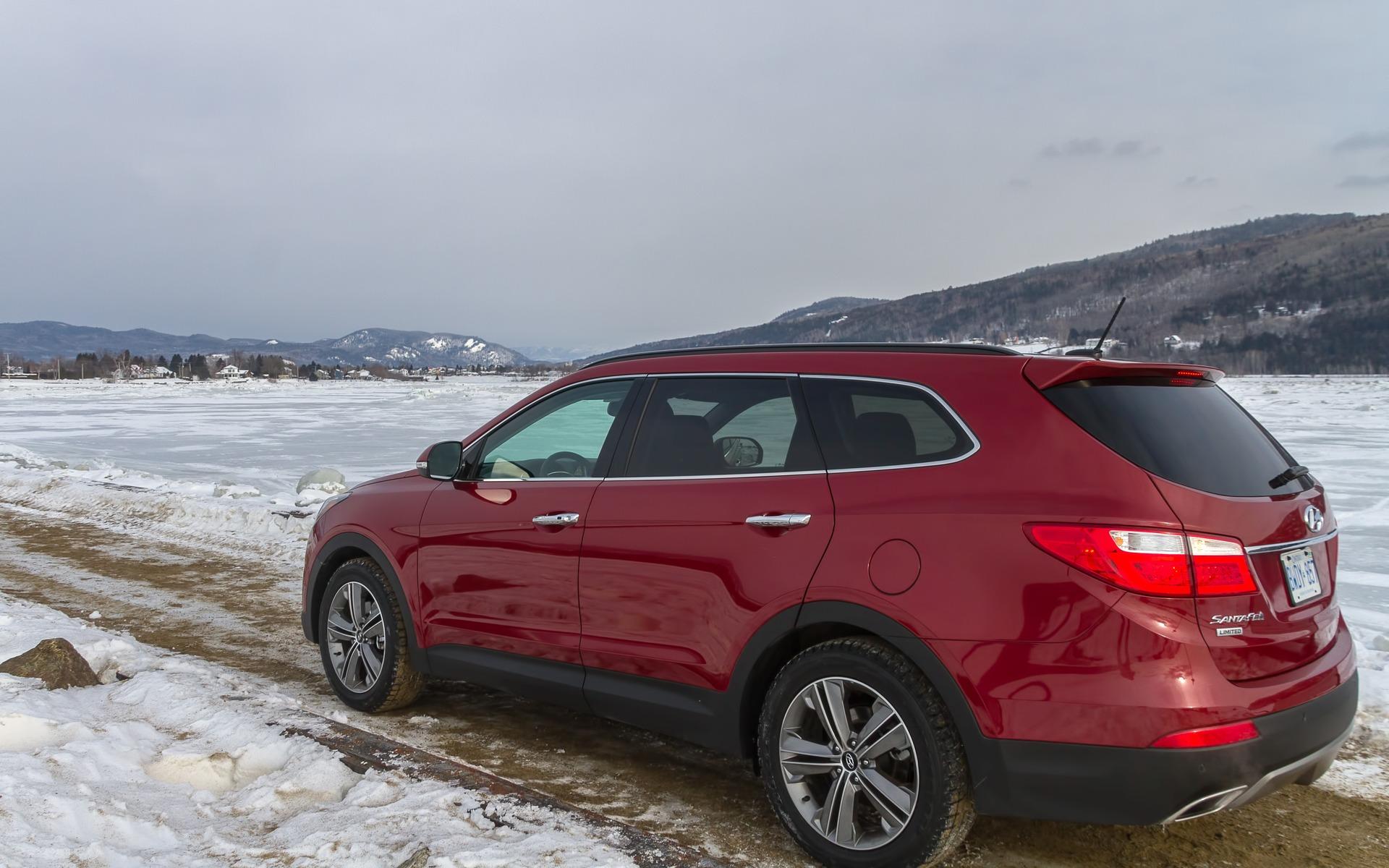 2015 Hyundai Santa Fe Xl A Test Drive In My Snowy