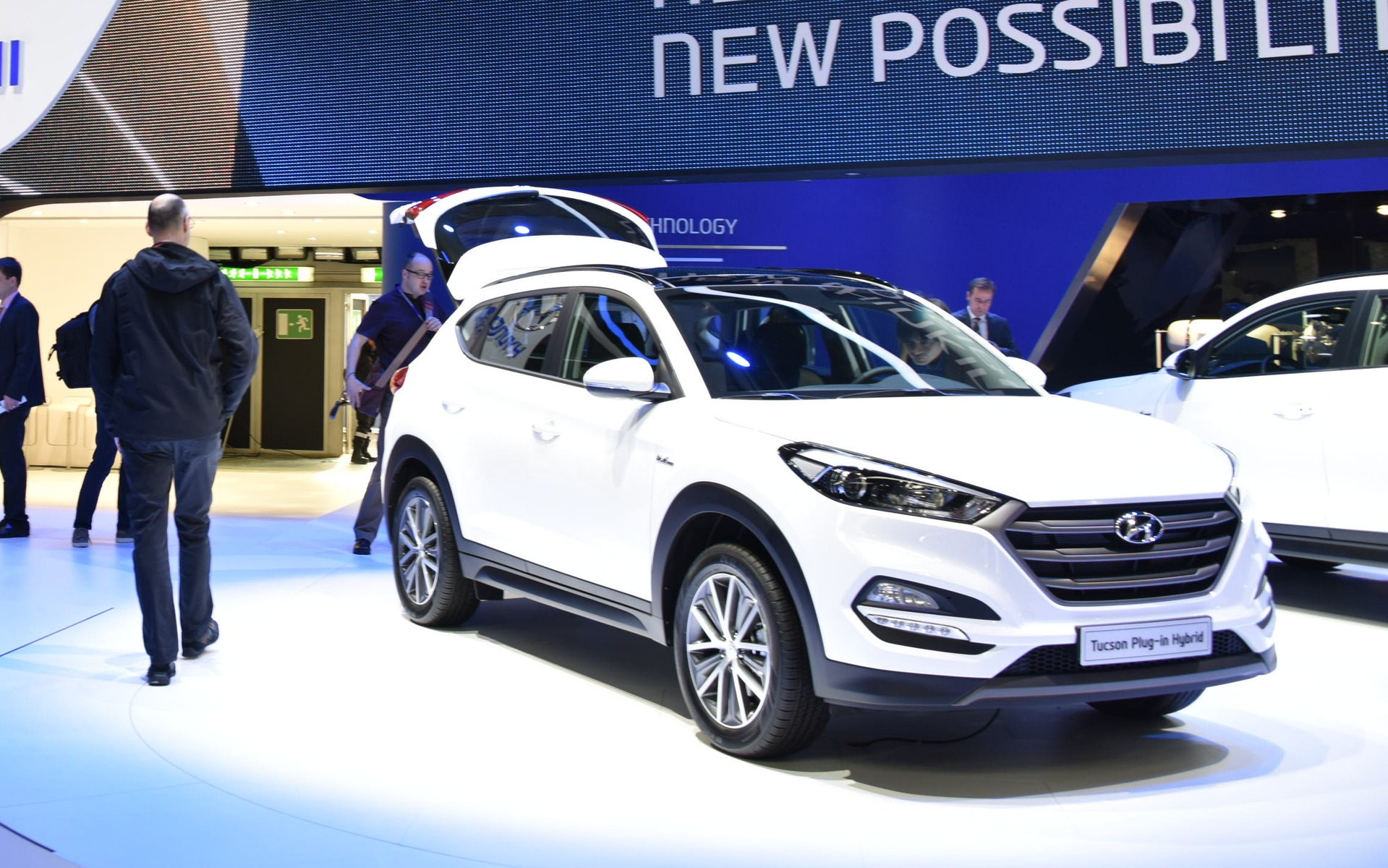 voici le nouveau hyundai tucson 2016 guide auto. Black Bedroom Furniture Sets. Home Design Ideas