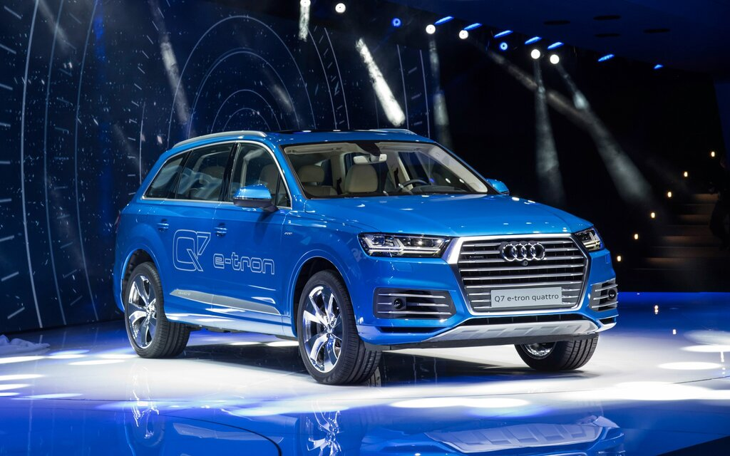 audi q7 e tron tdi quattro des chiffres impressionnants guide auto. Black Bedroom Furniture Sets. Home Design Ideas