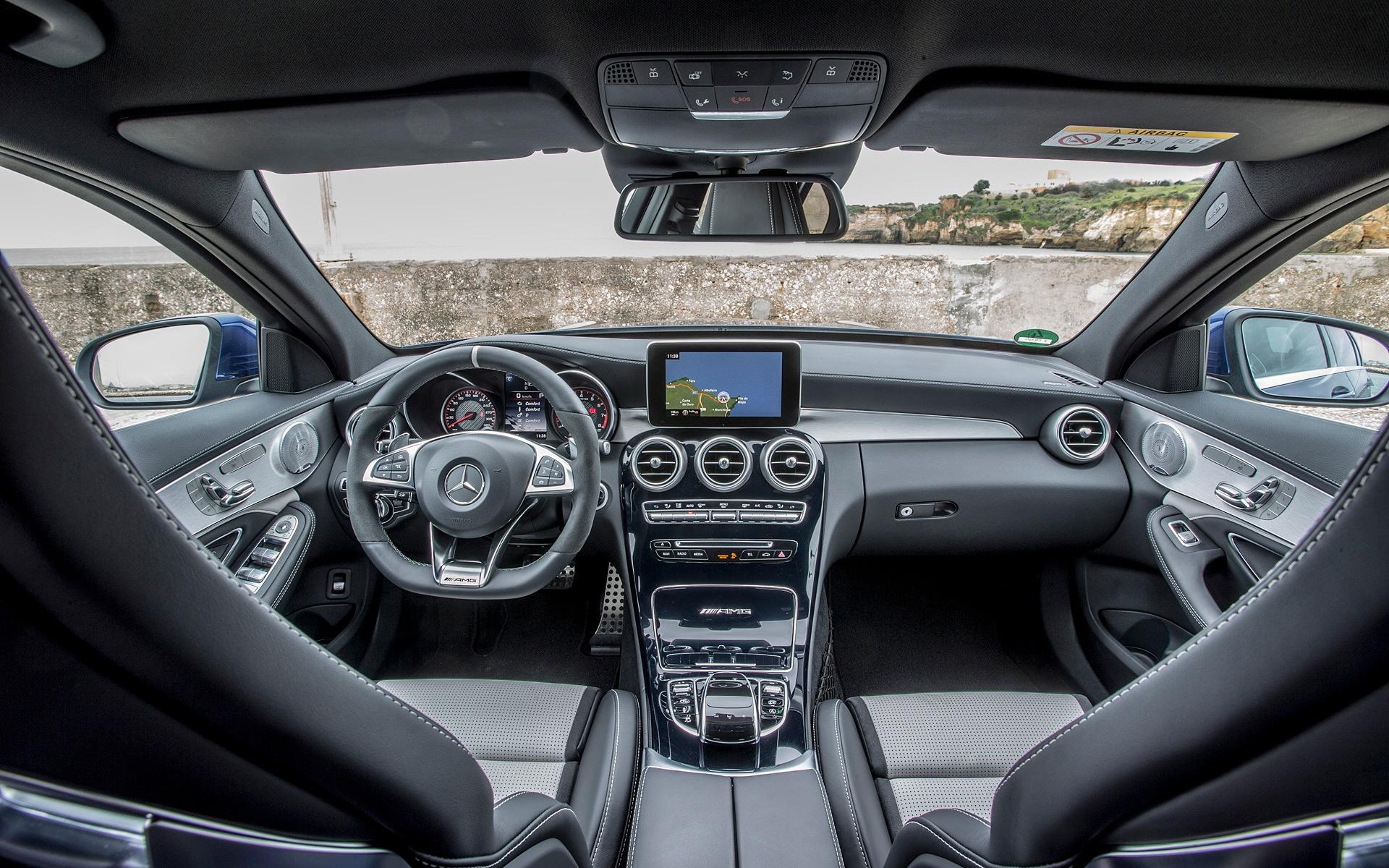 L'habitacle de la Mercedes-AMG C 63 S