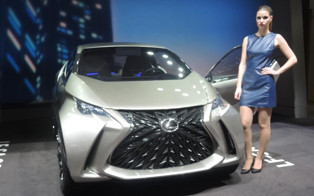 10: Lexus LF-SA Concept