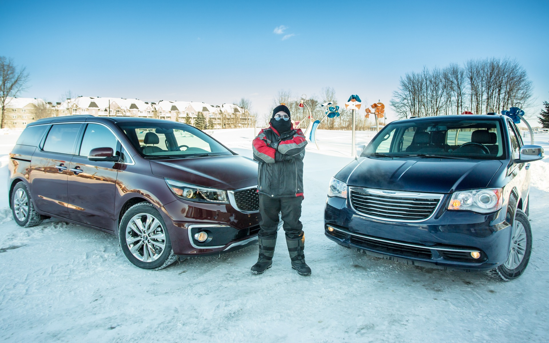 2015 Kia Sedona Vs Chrysler Town Country A Tale Of Two Minivans