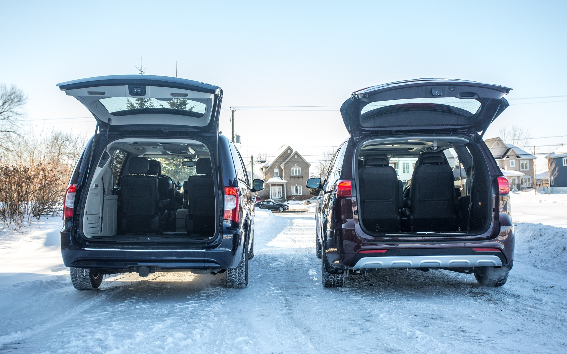 Both come with power liftgates, too.