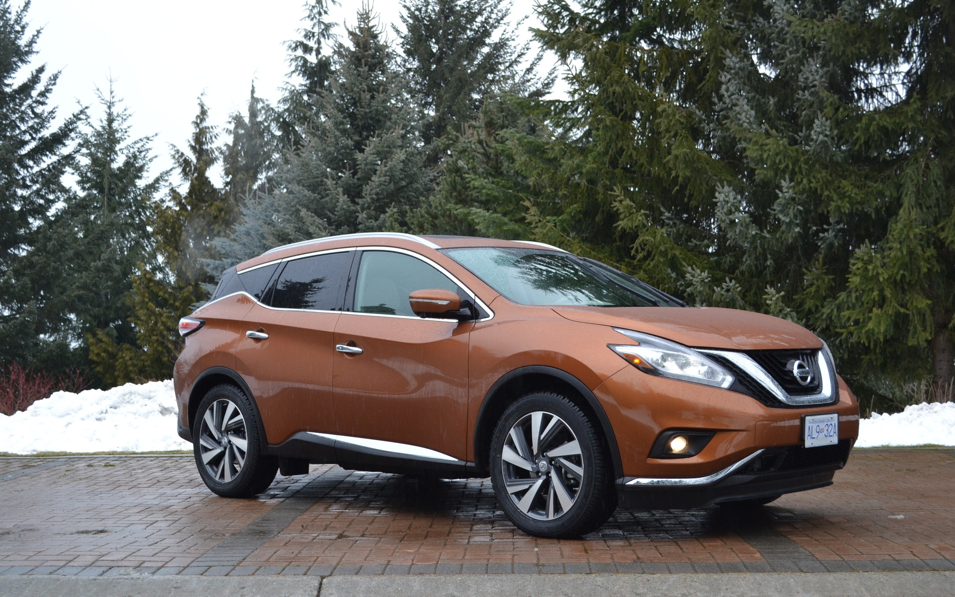 2015 nissan murano reaching for the top the car guide. Black Bedroom Furniture Sets. Home Design Ideas