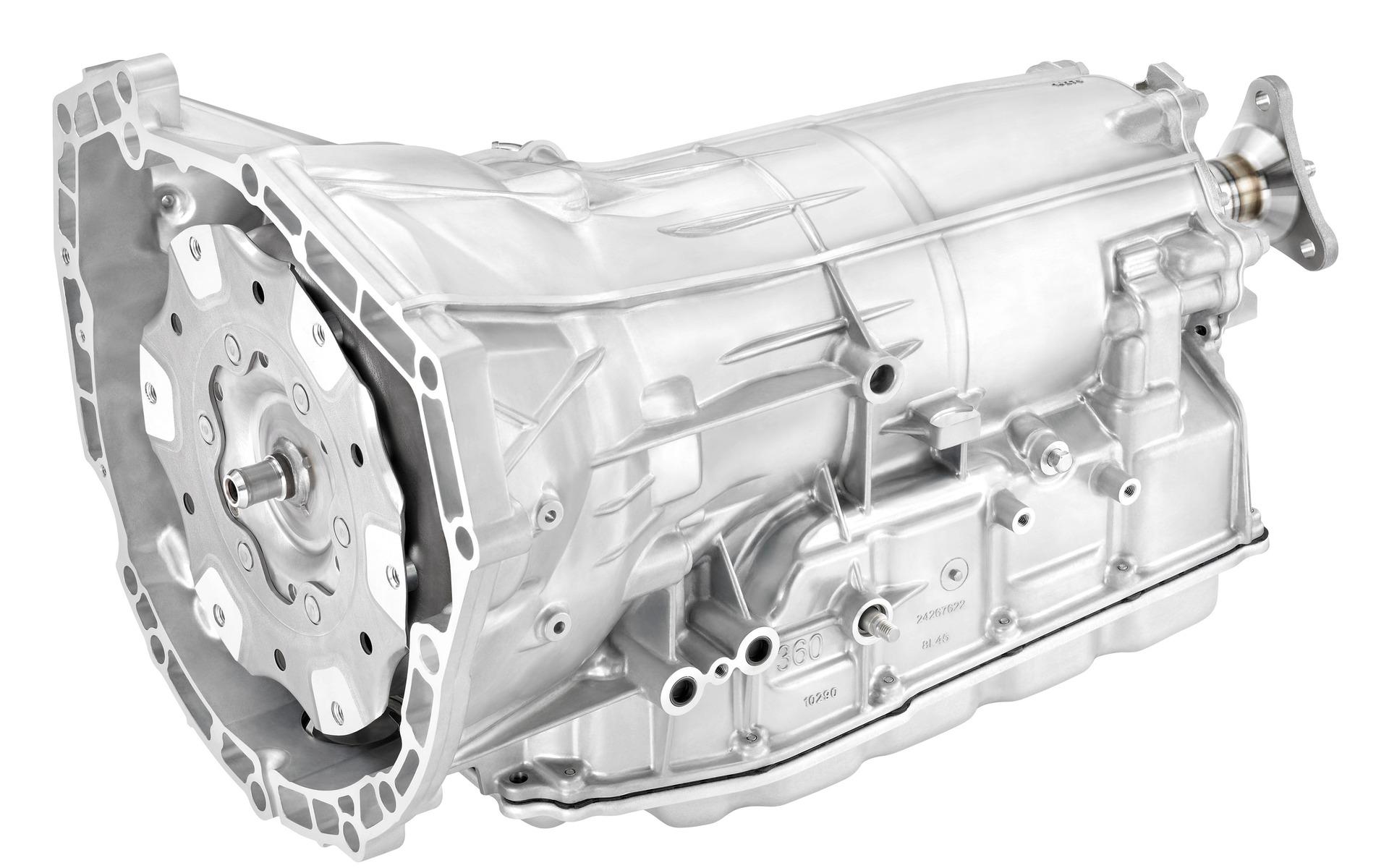La transmission 8L45 est destinée aux moteurs atmosphériques.