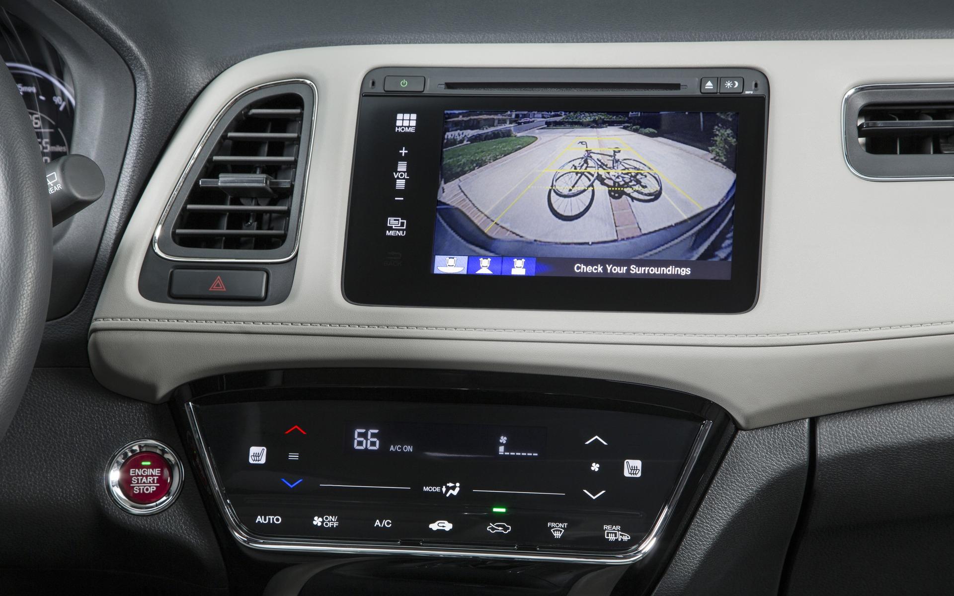 Honda HR-V 2016 - Caméra de recul avec fonctions multi-vues