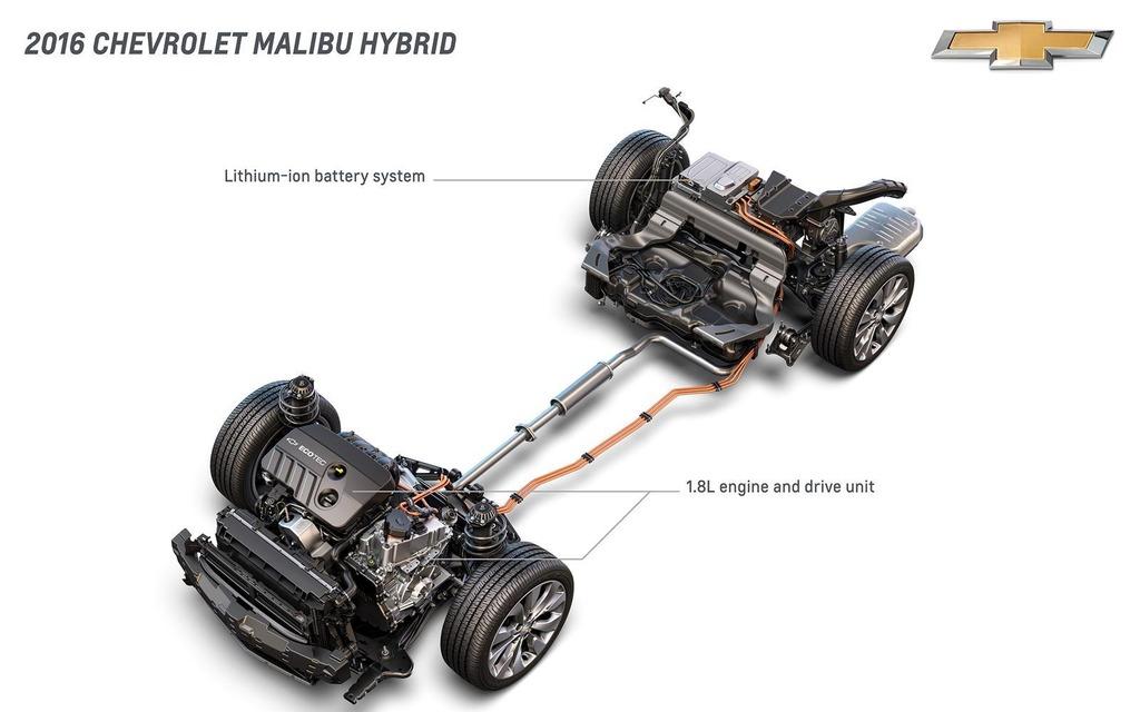 Chevrolet Malibu hybride