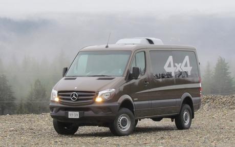 Mercedes Sprinter 4X4 >> 2015 Mercedes Benz Sprinter 4x4 Doing The Dirty Work The