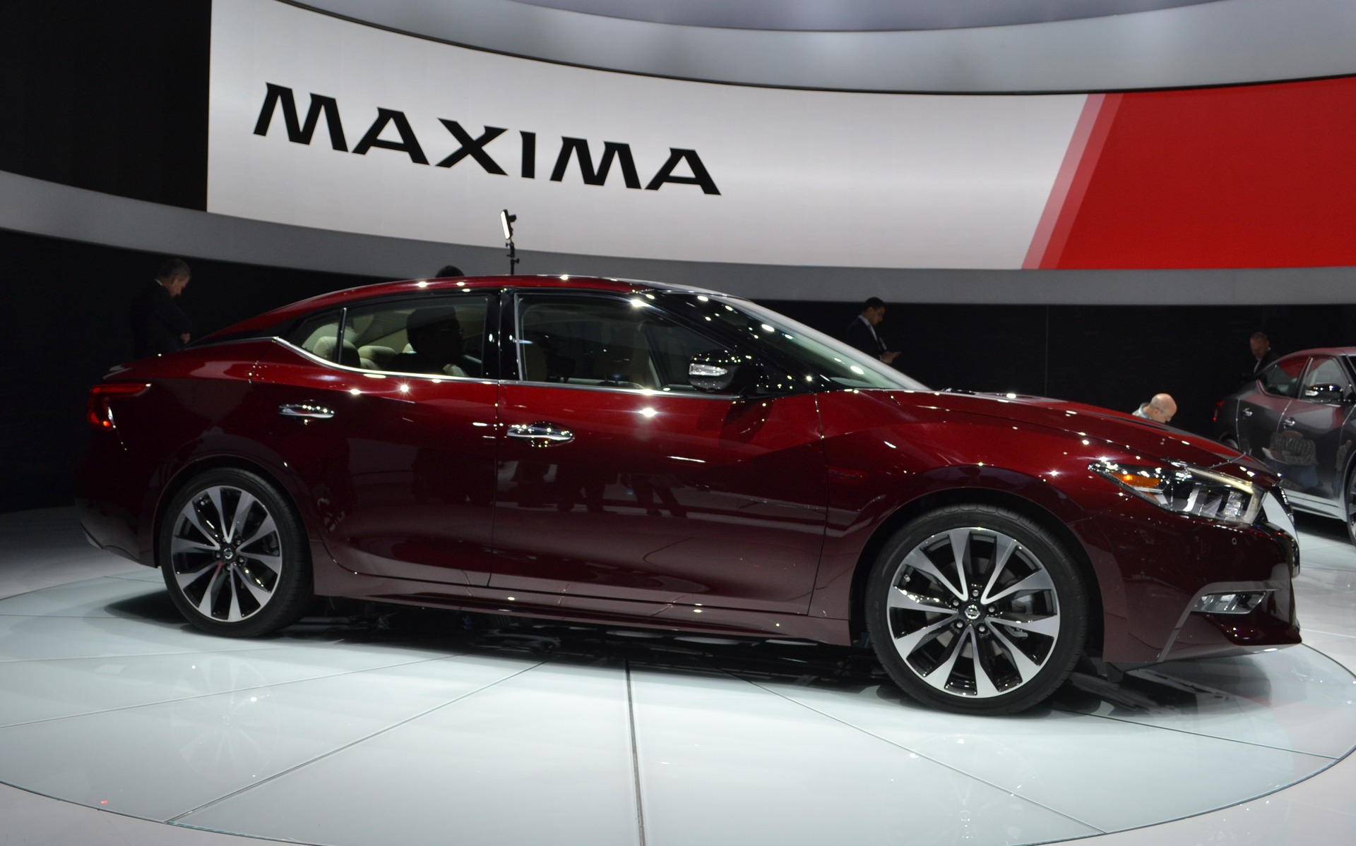 New Nissan Maxima >> Nissan Will Unveil The 2016 Maxima In New York - 2/5