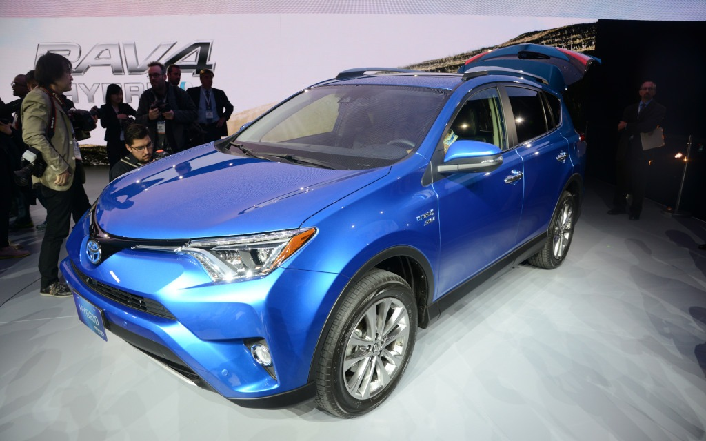 Toyota At The New York Auto Show Rav4 Hybrid And New