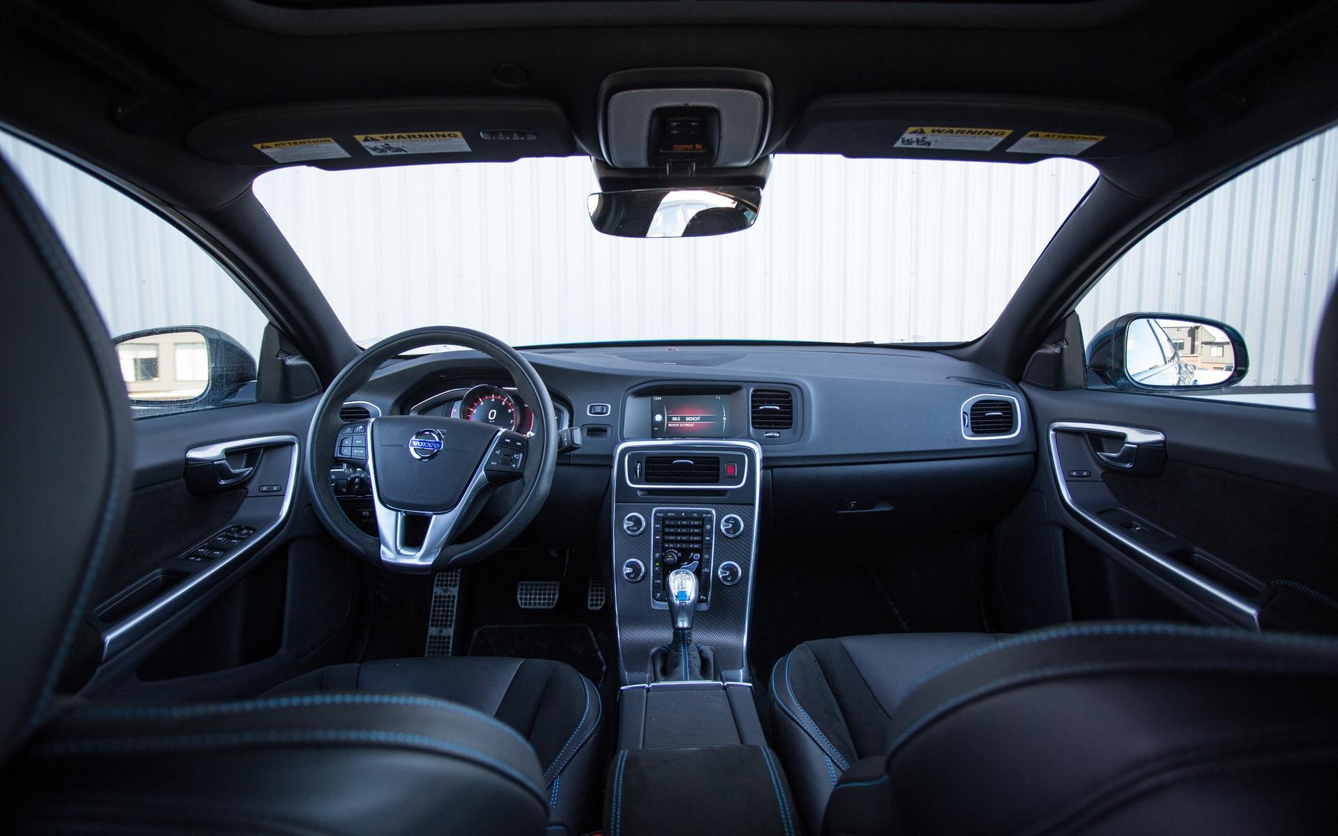 Les petits détails dans l'habitacle changent la dynamique de la voiture.