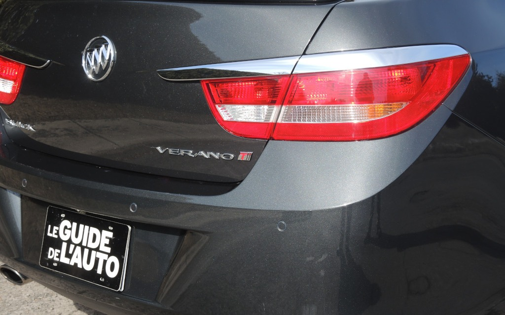 The Verano Turbo is distinguished only by a 'T' emblem.