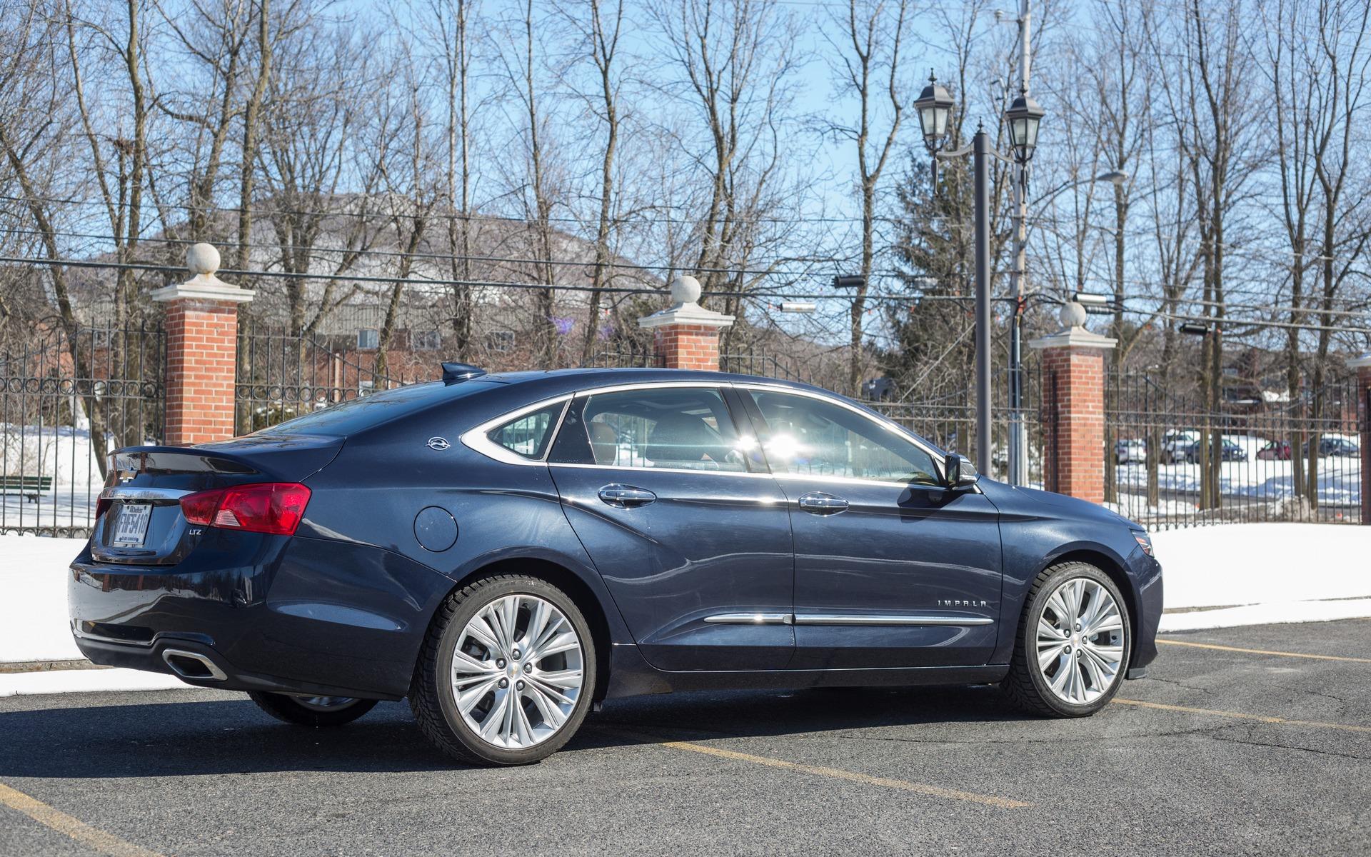 Beaucoup de chrome sur l'Impala LTZ.