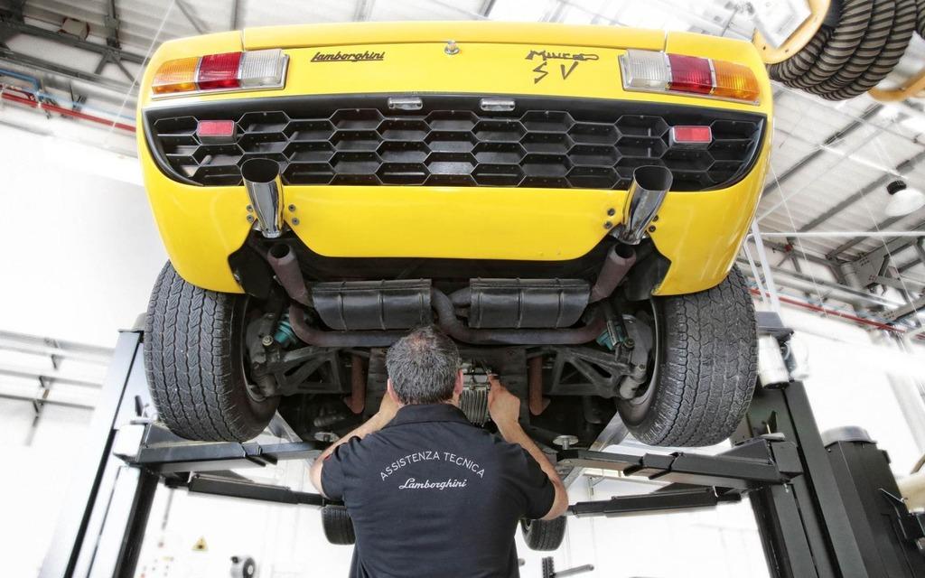Lamborghini Polo Storico Lamborghini S Effort To Remember