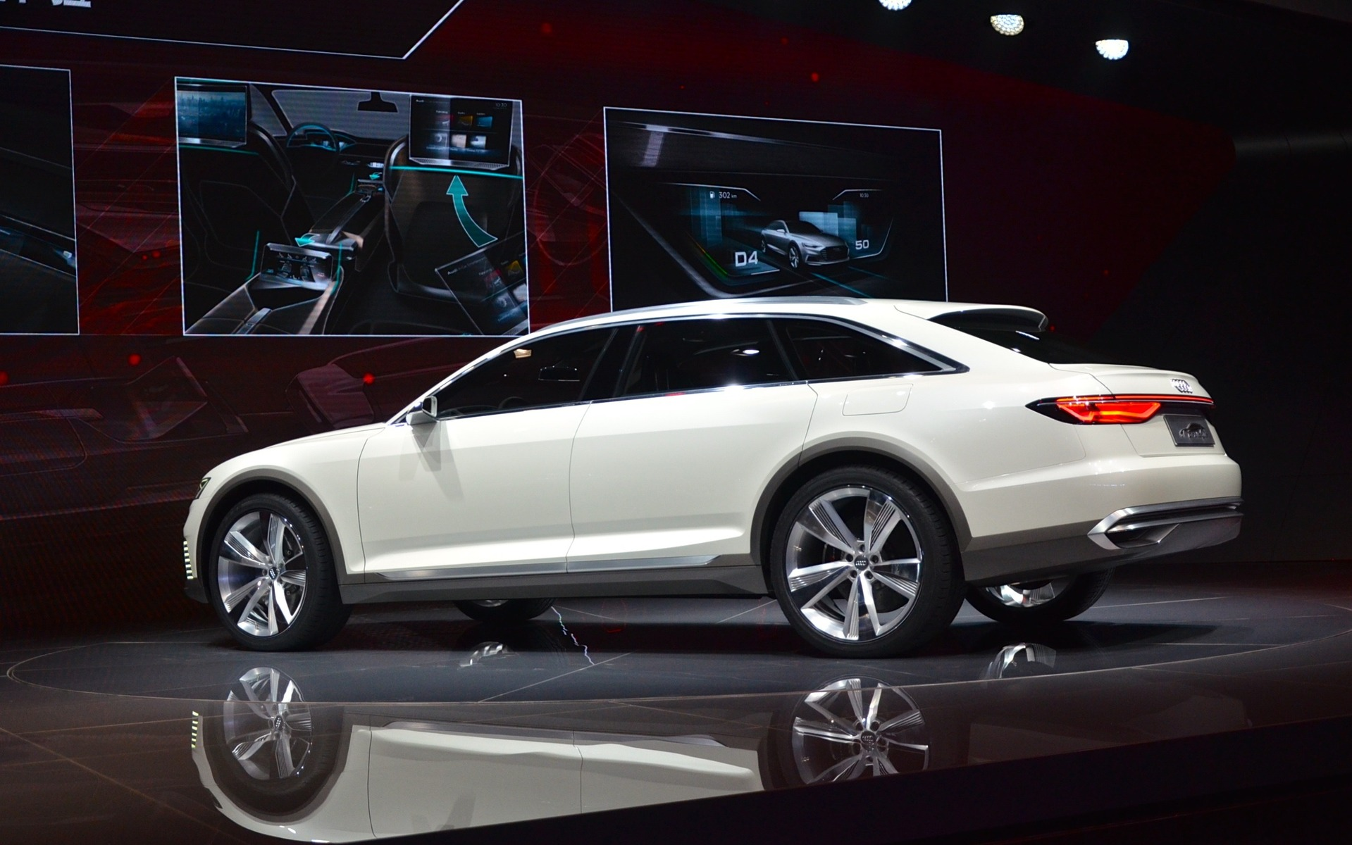 World Premiere Of The Audi Prologue Allroad Concept At