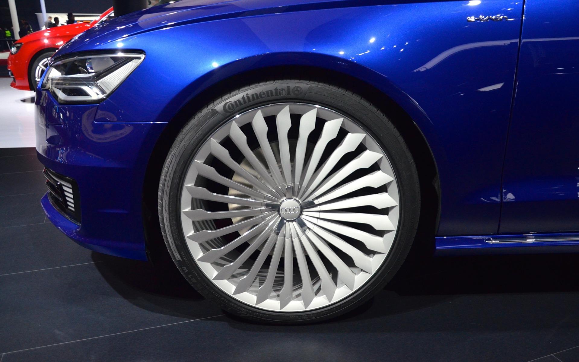The Audi A6 L E Tron And Q7 E Tron Quattro Unveiled In