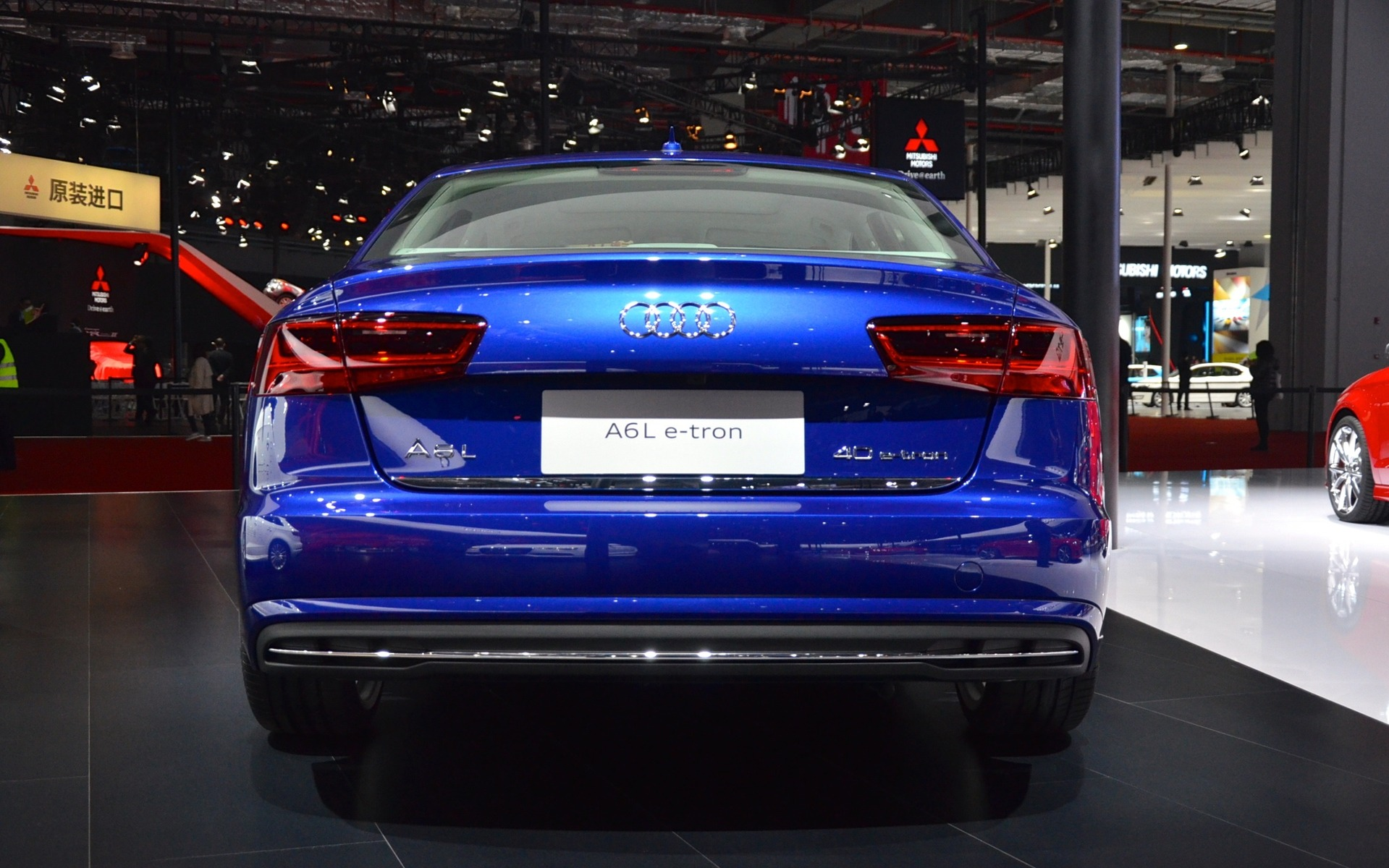 The Audi A6 L E Tron And Q7 E Tron Quattro Unveiled In