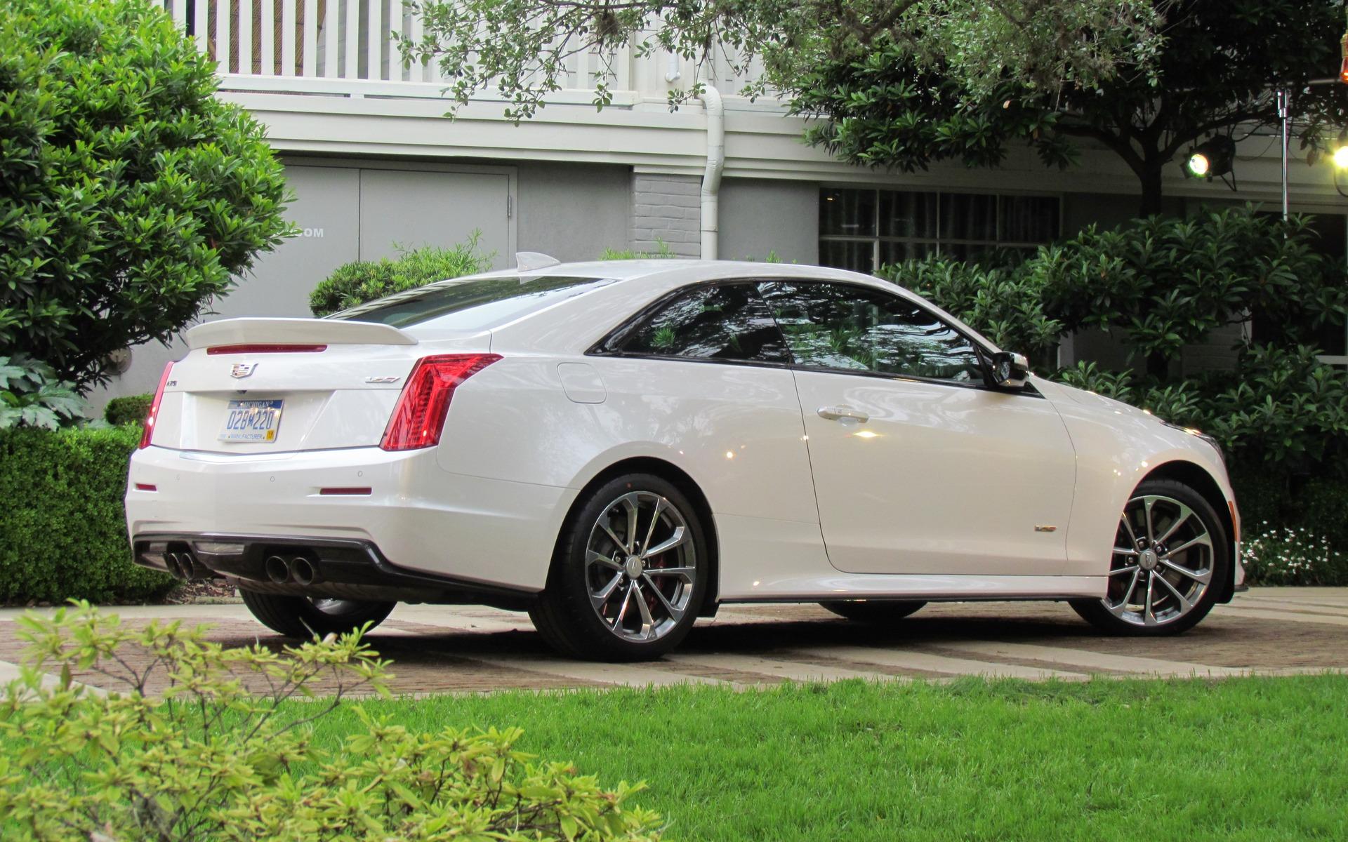 Cadillac Ats Coupe >> 2016 Cadillac ATS-V: A Track-Ready Cadillac? You Bet! - 4/21