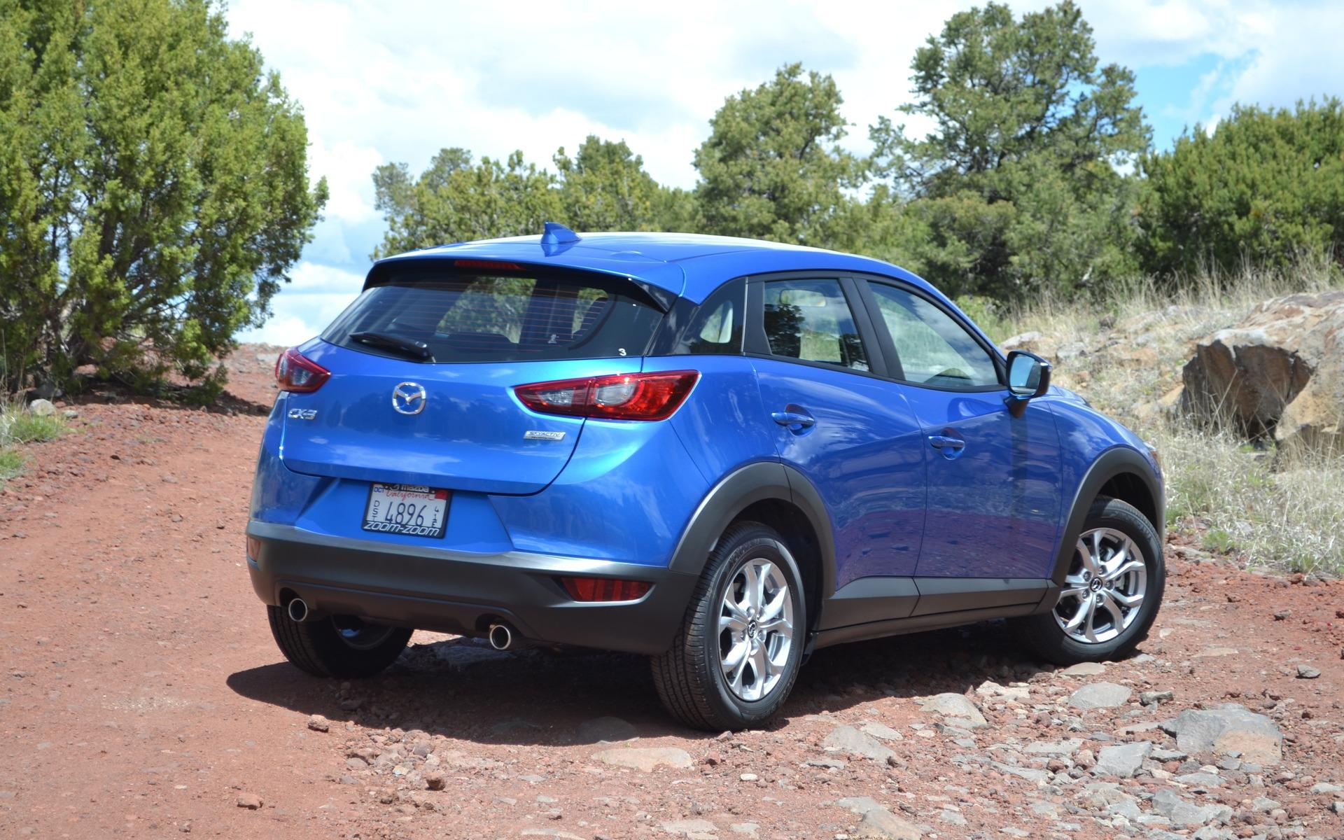 Aucune chance de se méprendre, il s'agit bien d'un produit Mazda.