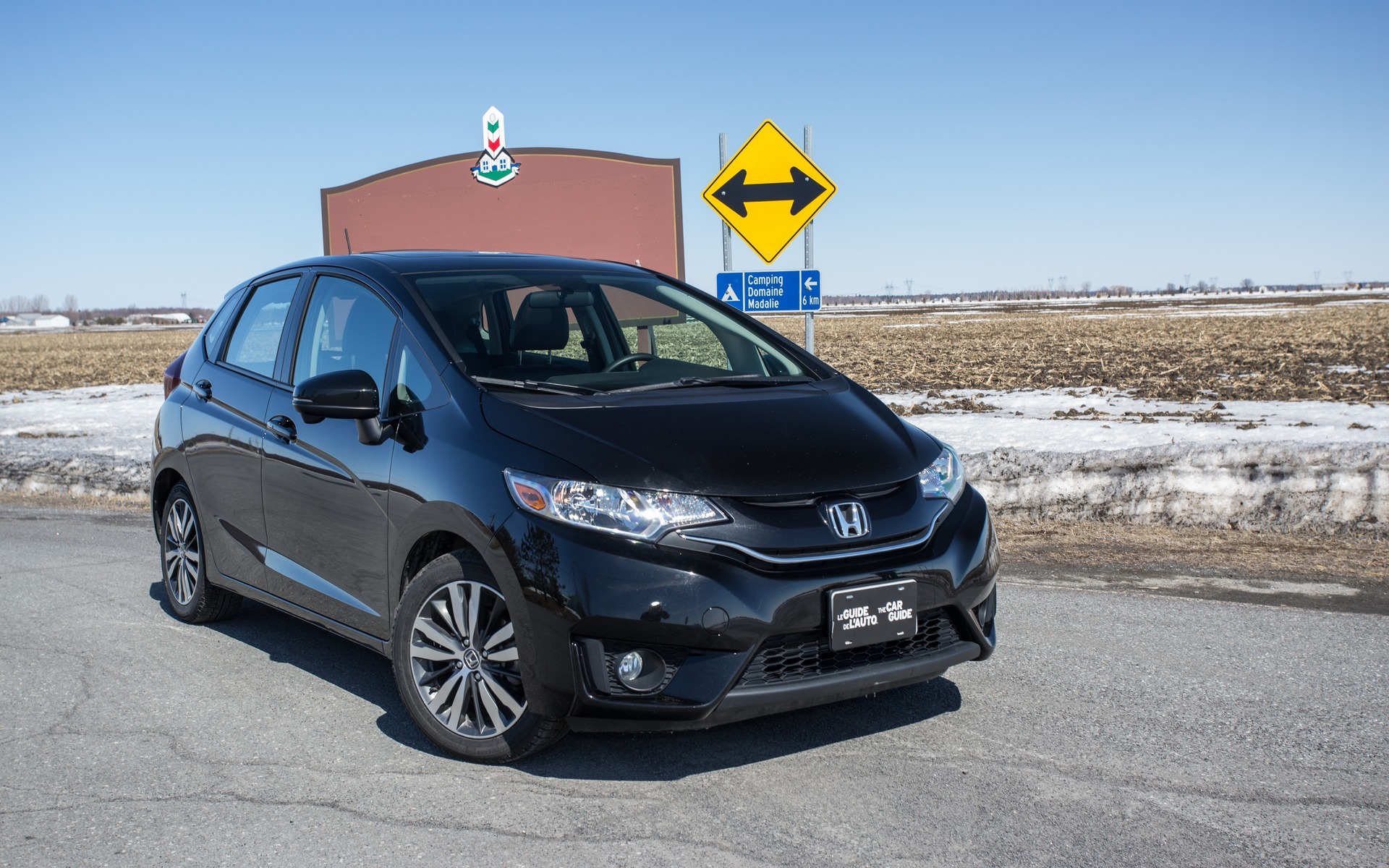 The Honda Fit was much more discrete.