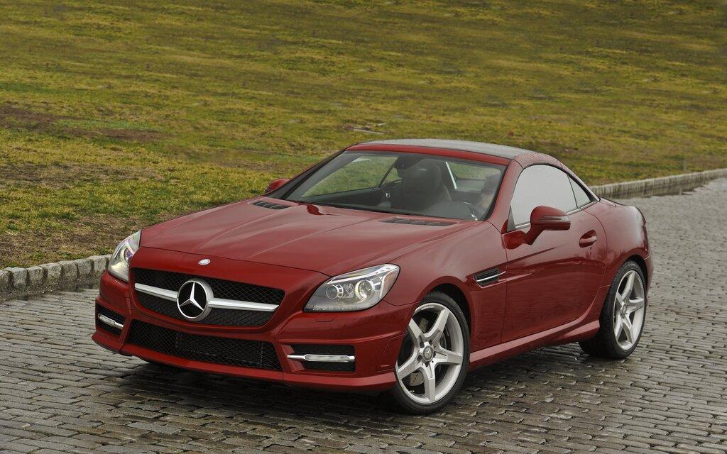 Mercedes benz classe slk 2015 la plus abordable des sl for Mercedes benz 640