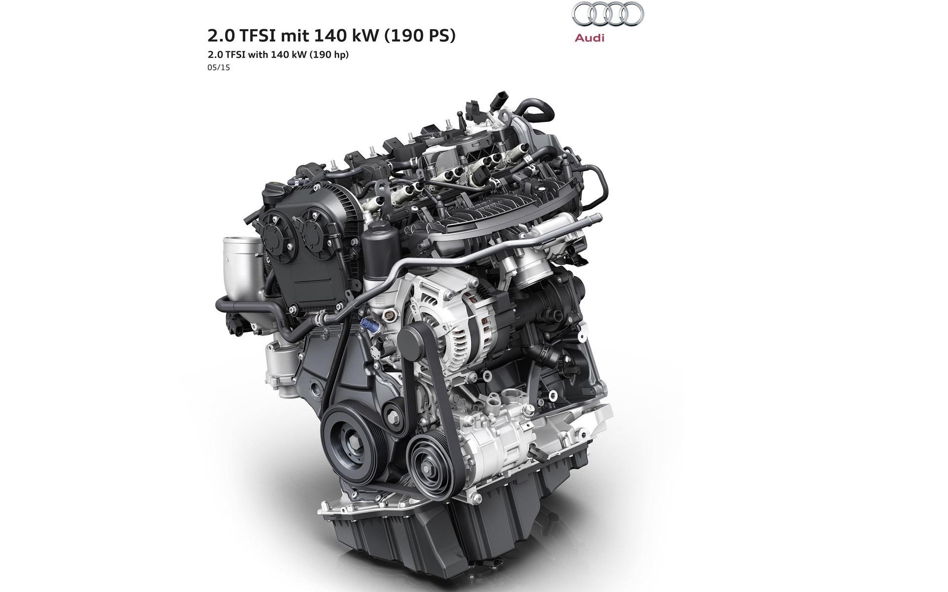 Audi Unveils Its Most Recent Engine - 1/1