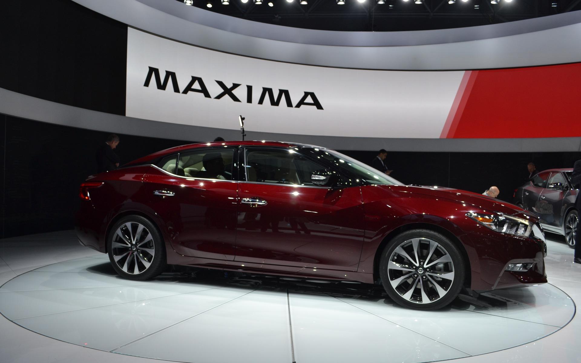 The 2016 Nissan Maxima.