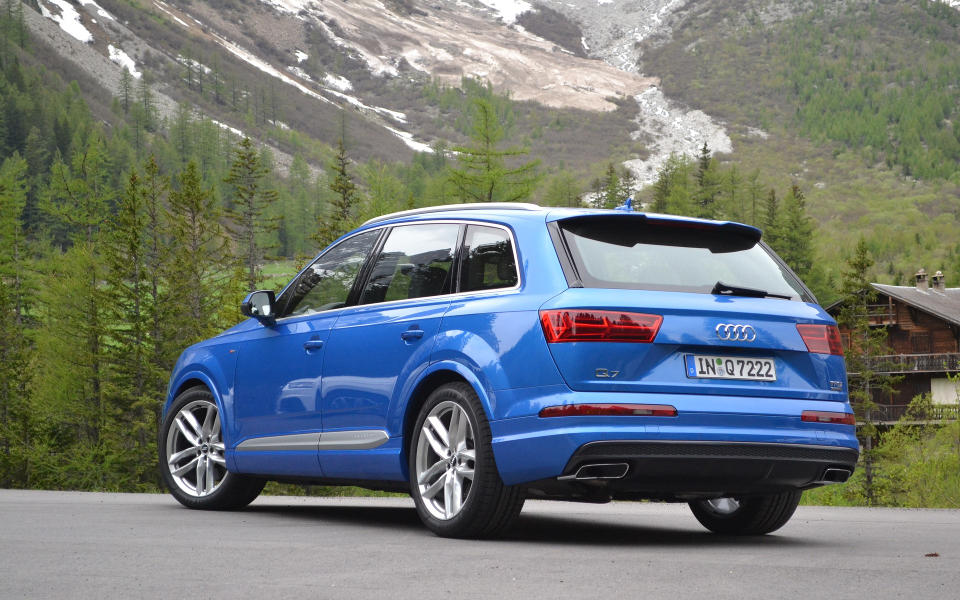 The 2016 Audi Q7 – updated and corrected.