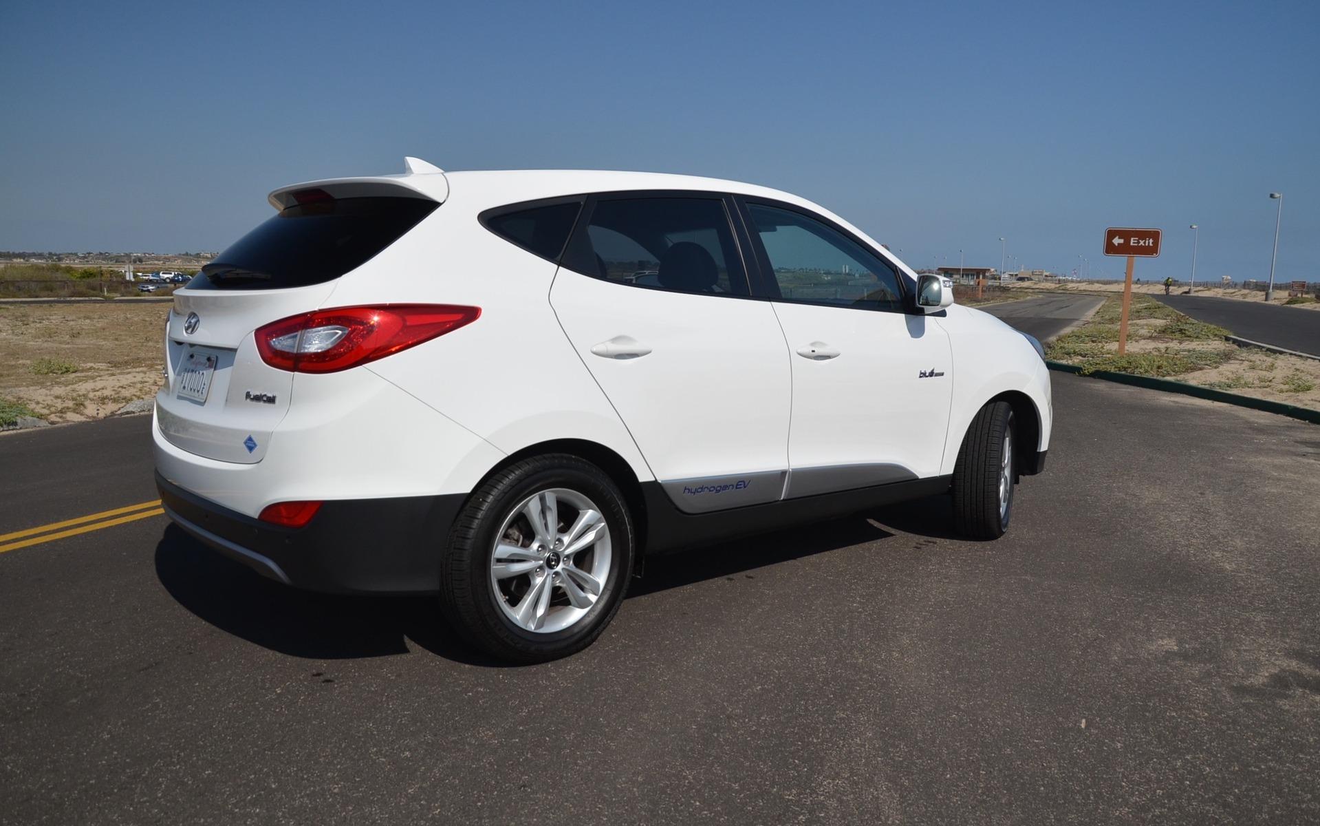 2015 Hyundai Tucson Hydrogen EV
