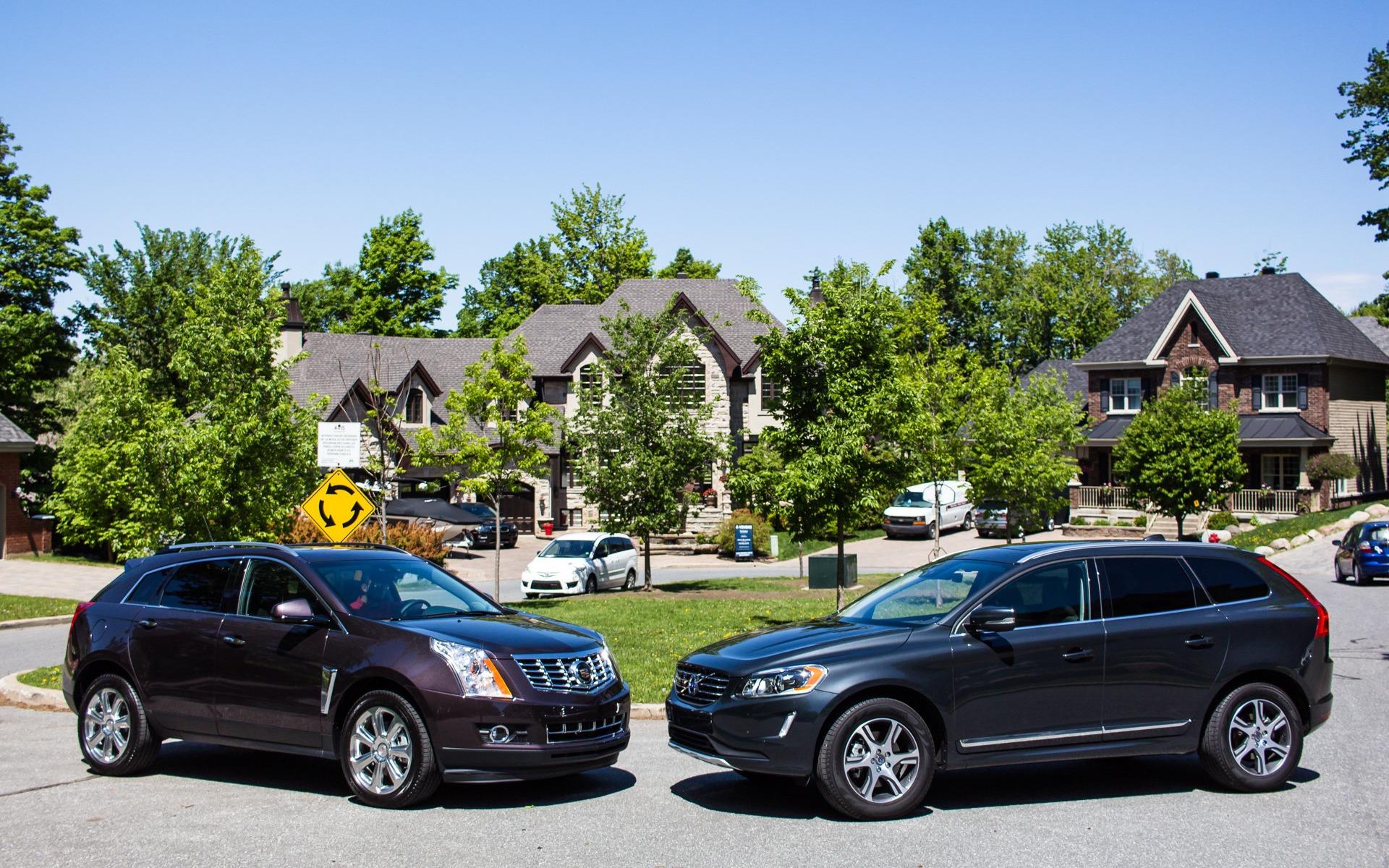 Cadillac SRX VS Volvo XC60