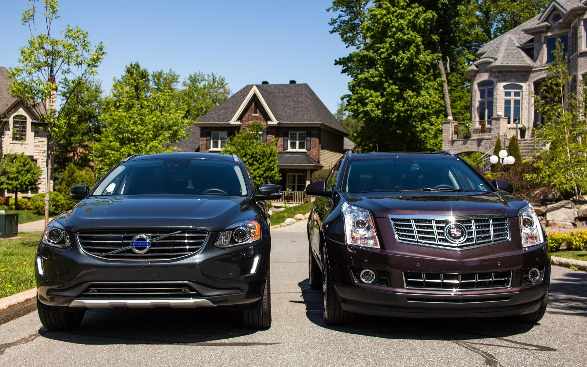 Volvo XC60 VS Cadillac SRX