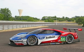 Here Is The Ford Gt That Will Race At Le Mans