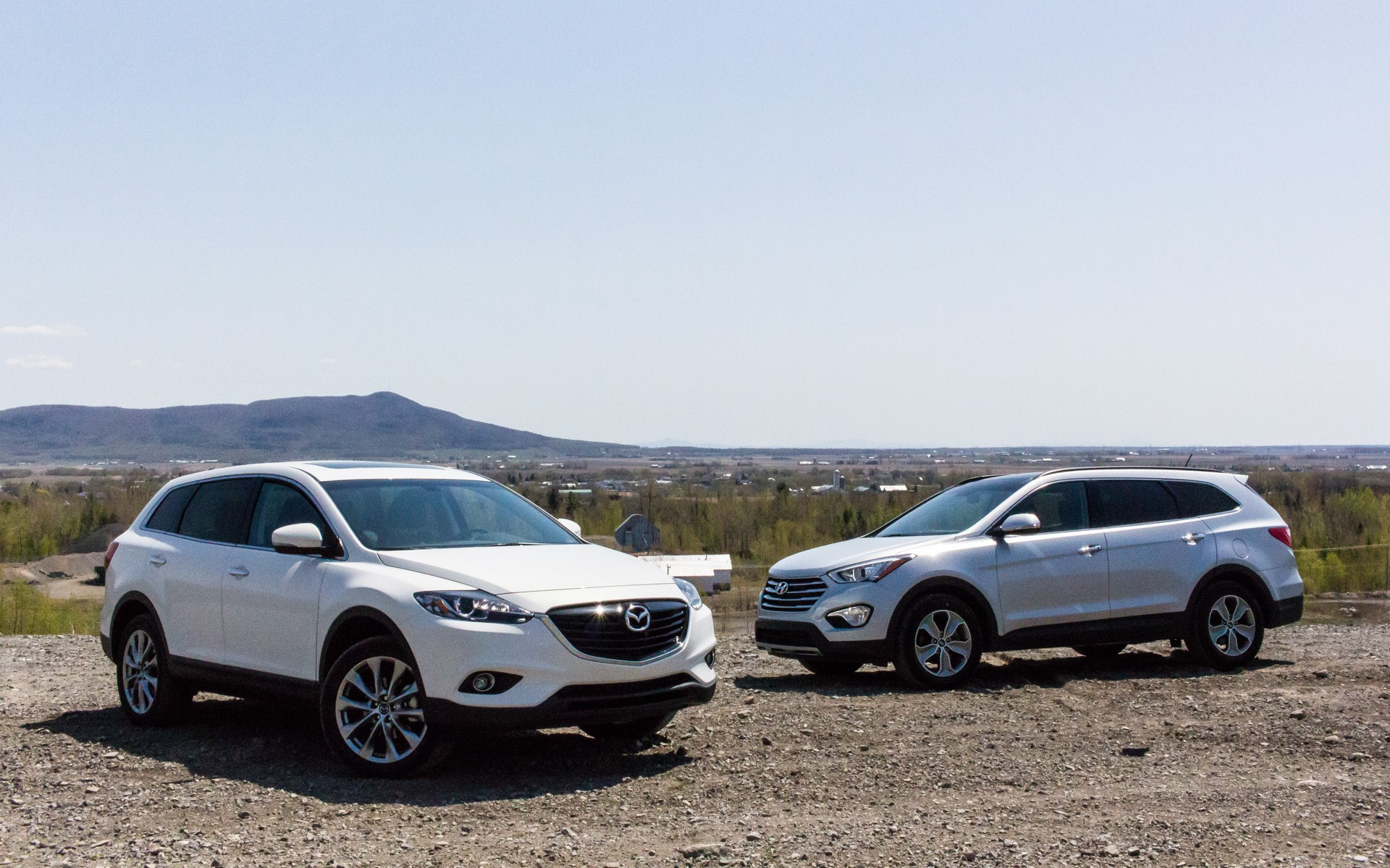 Mazda Santa Fe >> Mazda Cx 9 Vs Hyundai Santa Fe Xl Two Asian Vehicles For