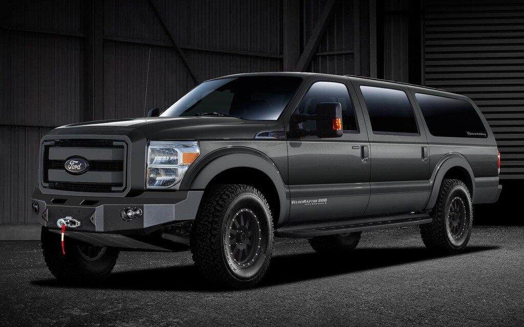Used Ford Raptor >> Hennessey Offers A Modern Ford Excursion, The VelociRaptor ...