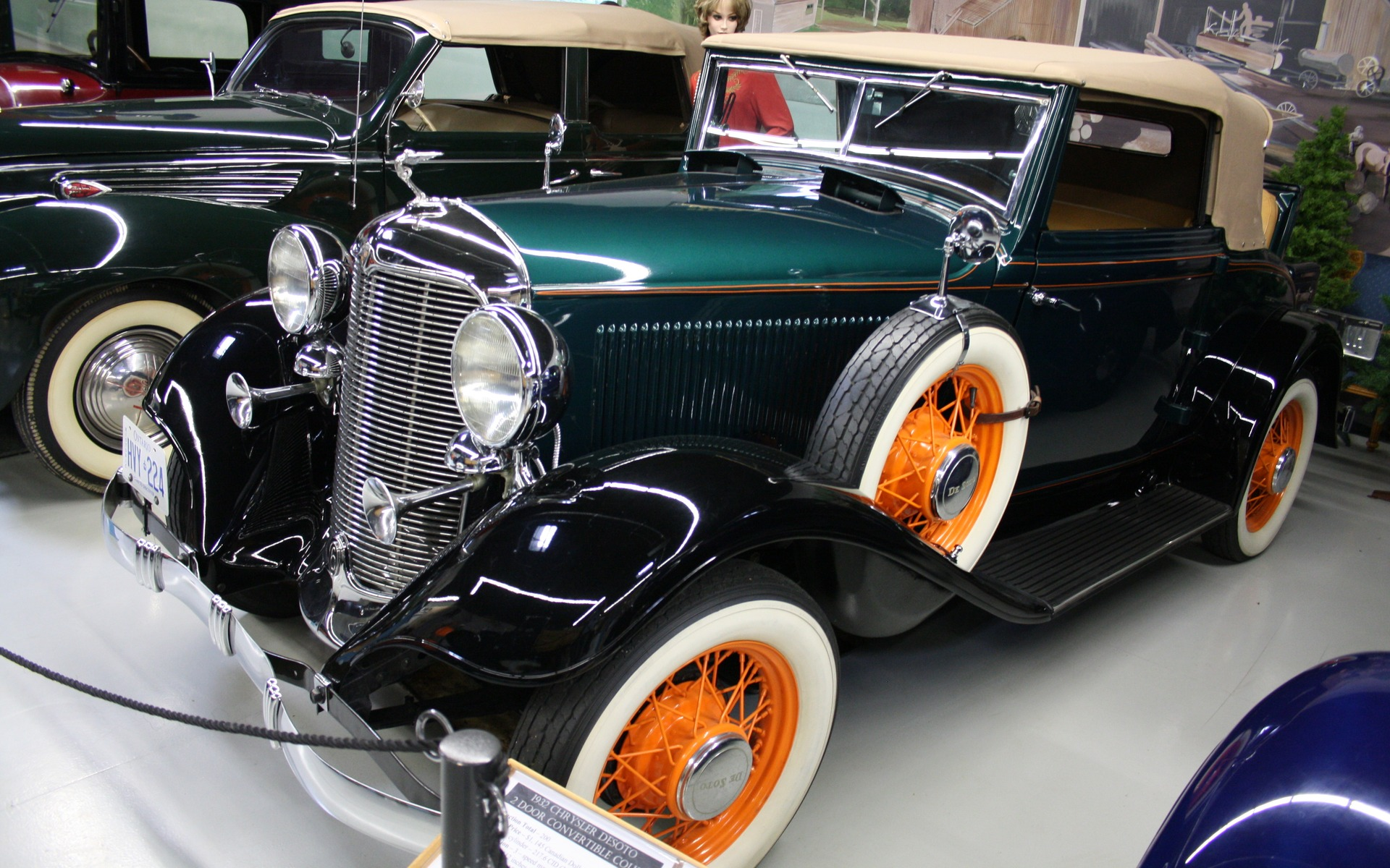 2 Door Convertible >> The Canadian Transportation Museum & Heritage Village: A Significant Collection - 10/31