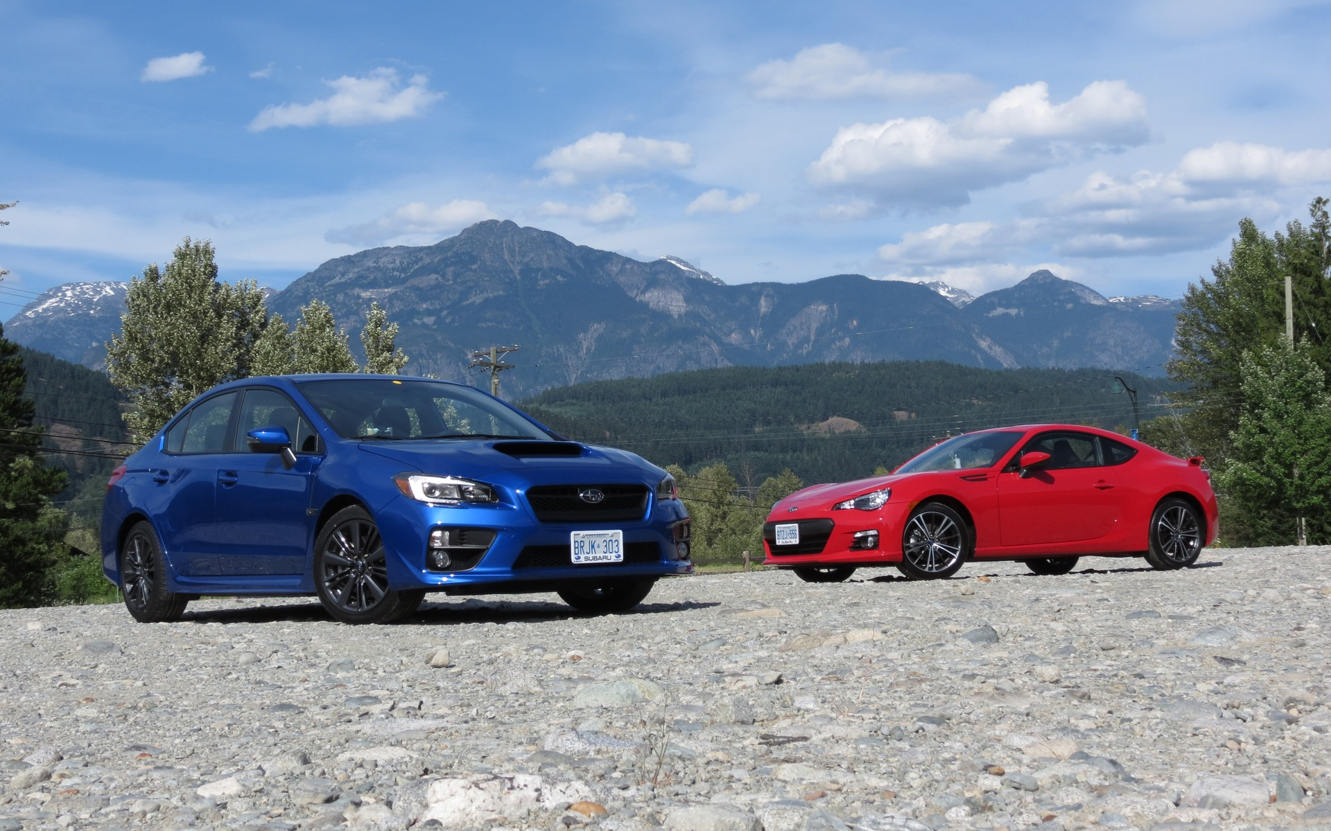 2016 Subaru WRX and BRZ