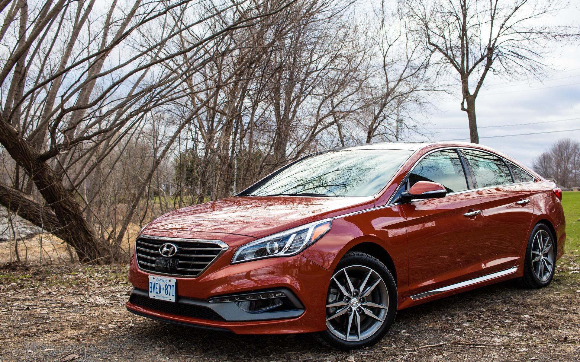 Hyundai Sonata 2015 - Un nouveau rappel