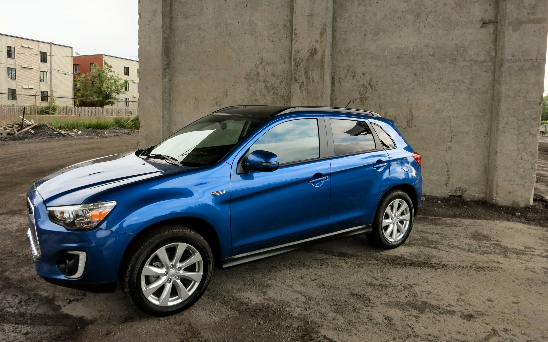 One Area Where The 2015 Mitsubishi RVR Need Make No Apology Is Styling.