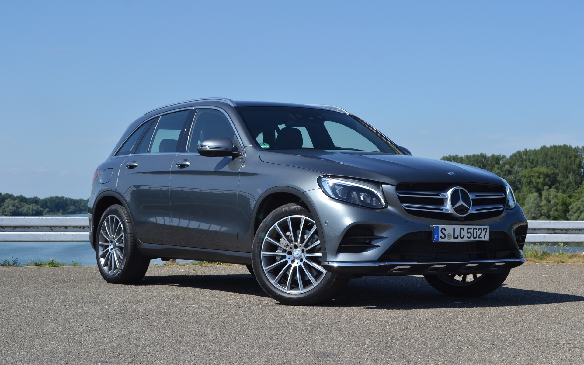 Le Mercedes-Benz GLC 2016, loin des gènes du GLK